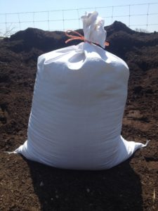 A cruelty-free bag of Compassionate Compost